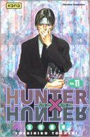 Couverture 4 septembre - Hunter X Hunter, tome 11
