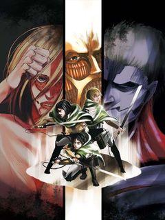 Affiche L'Attaque des Titans (OAV)