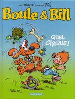 Couverture Quel cirque ! - Boule et Bill (nouvelle édition), tome 29