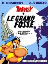 Couverture Le Grand Fossé - Astérix, tome 25