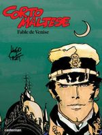 Couverture Corto Maltese - Tome 7 - Fable de Venise