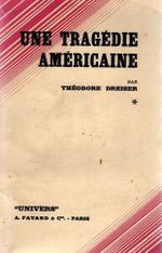 Couverture Une tragédie américaine