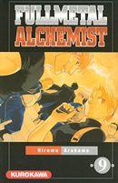 Couverture Fullmetal Alchemist, tome 9