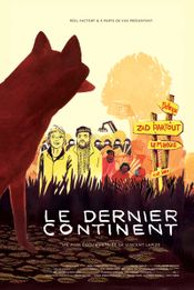 Affiche Le Dernier continent