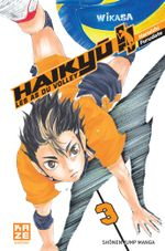 Couverture Haikyu !! Les As du volley, tome 3
