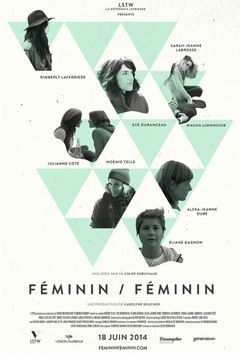Affiche Féminin/Féminin