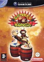 Jaquette Donkey Konga