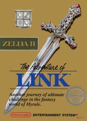 Jaquette Zelda II: The Adventure of Link