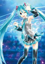 Jaquette Hatsune Miku : Project DIVA X