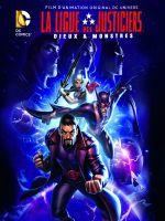 Affiche Les Aventures de la Ligue des justiciers - Dieux et monstres
