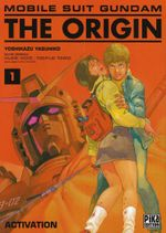 Couverture Activation - Mobile Suit Gundam : The Origin, tome 1