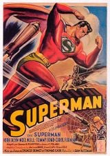 Affiche Superman (serial)