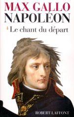 Couverture Napoléon : Le chant du départ