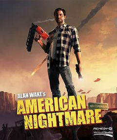 Jaquette Alan Wake's American Nightmare