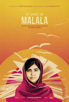 Affiche Il m'a appelée Malala
