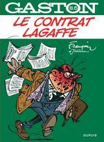 Couverture Le contrat Lagaffe - Gaston (Sélection), tome 5 (hors-série)