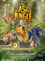 Affiche Les As de la jungle : Le Film - Opération banquise