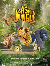 Affiche Les As de la jungle : Le Film - Opération banquise