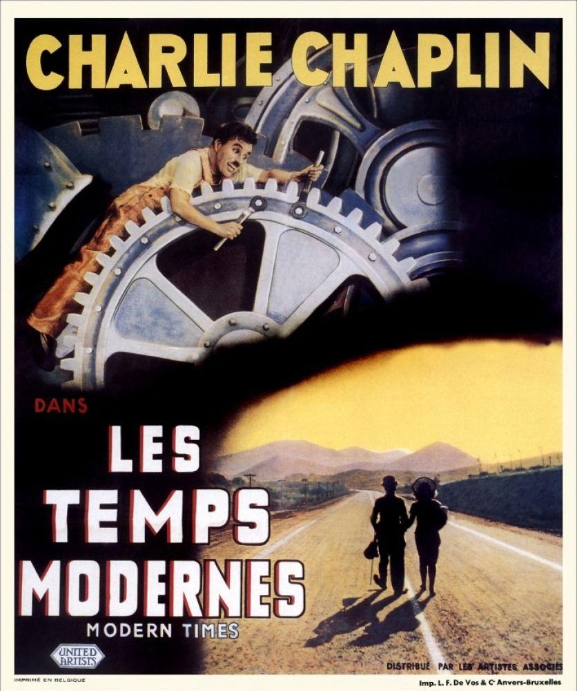 affiches posters et images de les temps modernes 1936