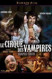 Affiche Le cirque des vampires