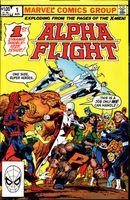 Couverture Alpha Flight Classic Vol. 1
