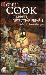 Couverture La Belle aux bleus d'argent - Garrett, détective privé, tome 1