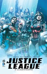 Couverture Justice League, tome 8
