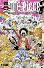 Couverture Périple sur l'île des hommes-poissons - One Piece, tome 62