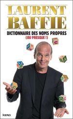Couverture Dictionnaire des noms propres (ou presque !)