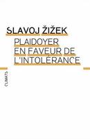 Couverture Plaidoyer en faveur de l'intolérance