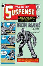 Couverture Tales Of Suspense #39