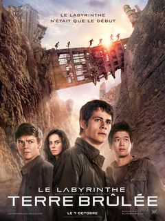 Affiche Le Labyrinthe : La Terre brûlée