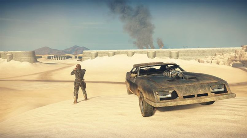 Illustration Echange de screenshots de Mad Max