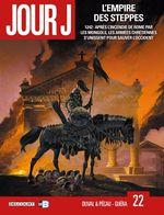 Couverture L'Empire des steppes - Jour J, tome 22