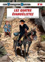 Couverture Les Tuniques Bleues - Tome 59 - Les quatre évangélistes