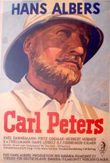 Affiche Carl Peters