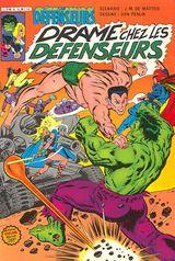 Couverture Drame chez les défenseurs - Les Défenseurs, tome 8