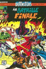 Couverture La bataille finale - Les Défenseurs, tome 10