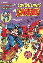Couverture Les combattants de l'arène - Captain America, tome 18