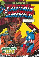 Couverture Conspirations en série - Captain America, tome 27