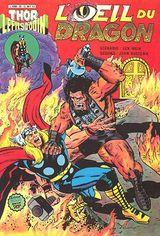 Couverture L'œil du dragon - Thor le fils d'Odin, tome 20