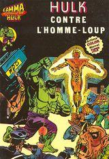 Couverture Hulk contre l'Homme-Loup - Gamma la bombe qui a créé Hulk, tome 10