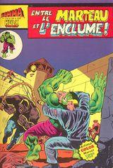 Couverture Entre le Marteau et l'Enclume - Gamma la bombe qui a créé Hulk, tome 12