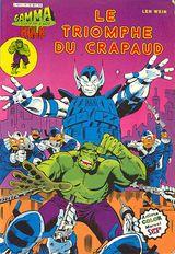 Couverture Le triomphe du Crapaud - Gamma la bombe qui a créé Hulk, tome 15