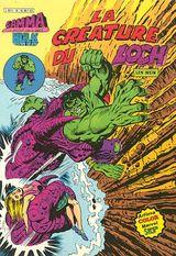 Couverture La créature du loch - Gamma la bombe qui a créé Hulk, tome 16