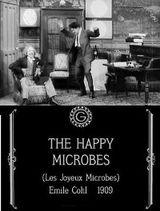 Affiche Les joyeux microbes