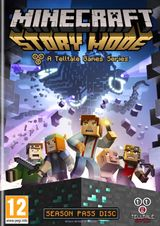 Jaquette Minecraft : Story Mode