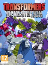 Jaquette Transformers Devastation