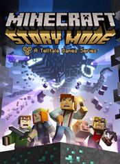 Jaquette Minecraft : Story Mode - A Telltale Games Series
