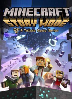 Jaquette Minecraft : Story Mode - A Telltale Games Series